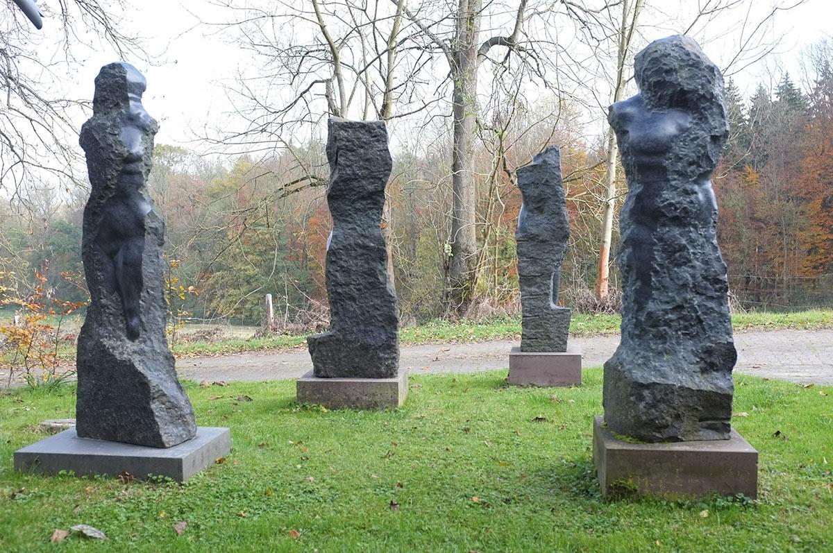 Skulpturengarten Mandelbeck Wolf Bröll Bildhauer